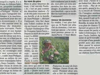 Paolo & les vendangeurs italiens du Château Saint Pierre - Var Matin
