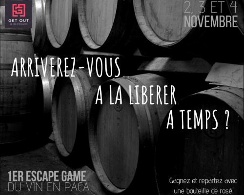 1st Escape Game around wine in the PACA region at Château St Pierre