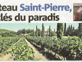 Château Saint Pierre- Les clés du Paradis (Var Matin)