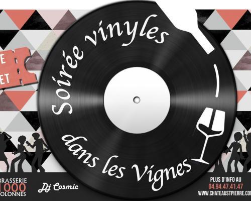 Soirée Vinyles dans les vignes 2ème édition